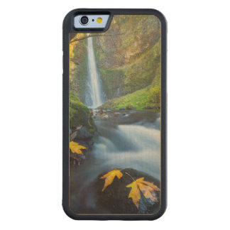Vertical panorama view of Tunnel Falls Maple iPhone 6 Bumper