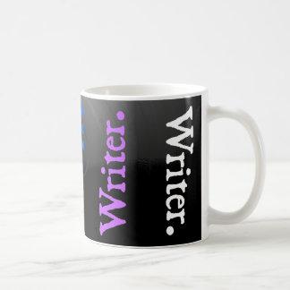 Vertical Reversal Colorsplash Writer. Coffee Mug