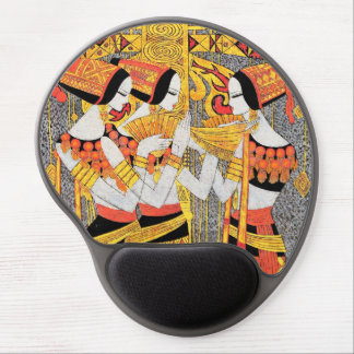 Vertical Song oriental egyptian ladies woman girls Gel Mouse Pad