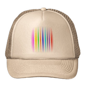 Vertical Stripes Art Cap