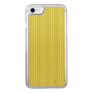 Vertical Stripes Chartreuse Yellow Green Carved iPhone 8/7 Case