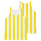 Vertical Yellow Stripes All-Over Print Tank Top