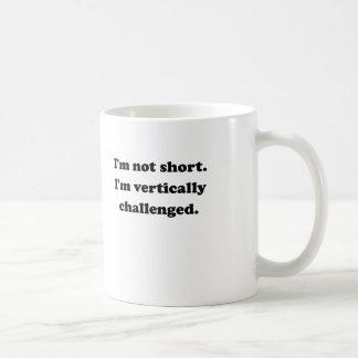 Vertically Challenged Coffee Mugs