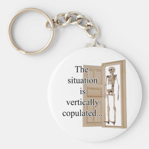 Vertically Key Chain