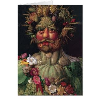 Vertumnus - Giuseppe Arcimboldo Card