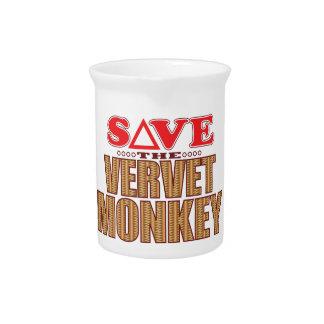 Vervet Monkey Save Pitcher