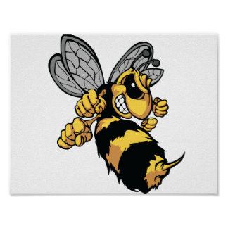 Very Angry Bee Poster