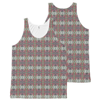 Very Berry Holly Christmas Design Tank Top 4