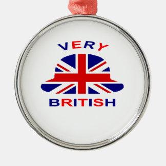 very british christmas ornament