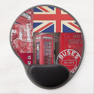 Very british gel mouse pad