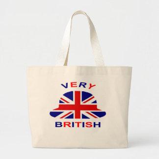 very british large tote bag