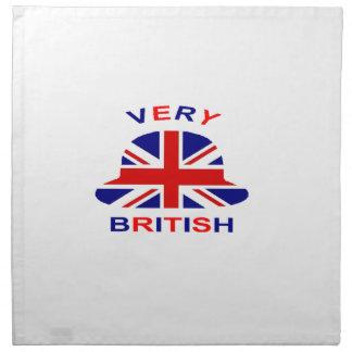 very british napkin