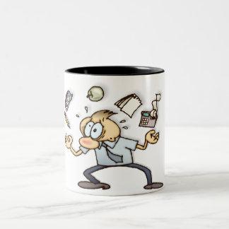 Very Busy Two-Tone Mug