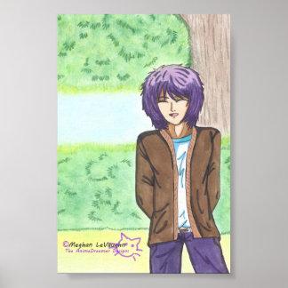 "Very Charming Jake Fine Art Poster 4 X 6"""