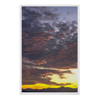 Very Cloudy Sky Poster