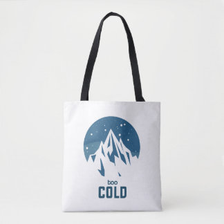 Very Cold Mountain With Snow Bag