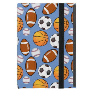 Very Cool and Special Sports Theme On Cool Blue Covers For iPad Mini