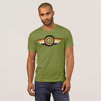 Very Cool Gay Bears Pride Flag wings Bear Paw T-Shirt