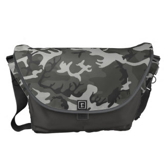Very Cool Military Style Urban Camo Pattern Messenger Bag