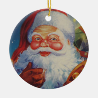 Very Cool Santa Claus Orniment Christmas Ornament
