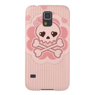 Very cute Love Skull Galaxy S5 Covers