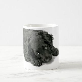 Very cute puppy basic white mug