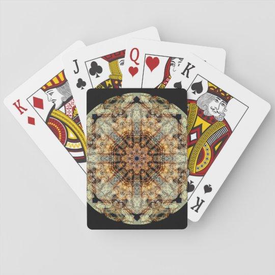 Very detailed Vintage Mandala Poker Deck