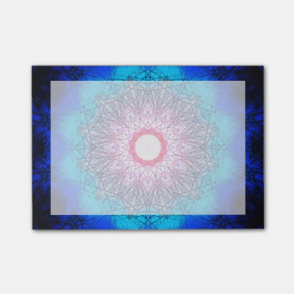 Very detailed Winter Sun Mandala Post-it Notes