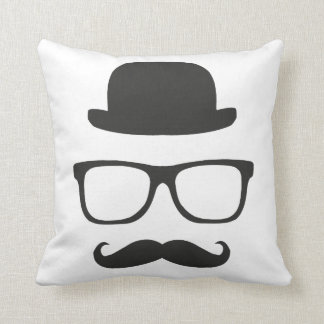 Very English Moustache Cushion