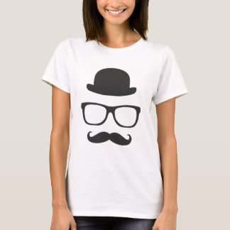 Very English Moustache T-Shirt