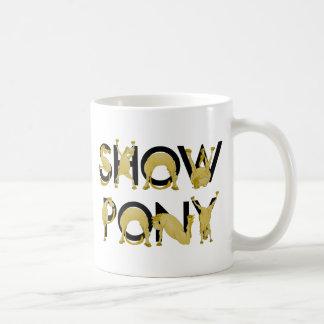 Very flexible SHOW PONY Basic White Mug