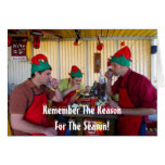 Very Fun Christmas Greeting Card! Greeting Card