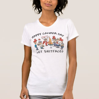 Very Funny Happy Canada Day Women's T-Shirt