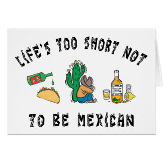 Very Funny Mexican Card