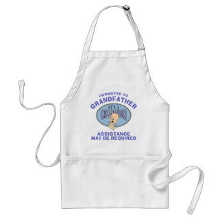 Very Funny New Grandson New Grandfather Standard Apron