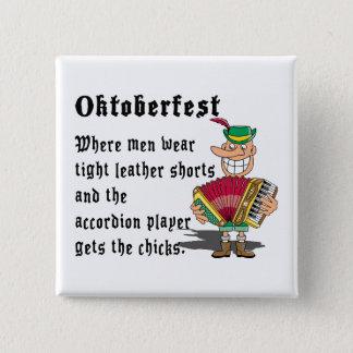 Very Funny Oktoberfest 15 Cm Square Badge
