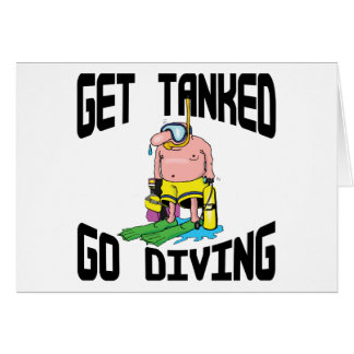 Very Funny SCUBA Diving Greeting Card