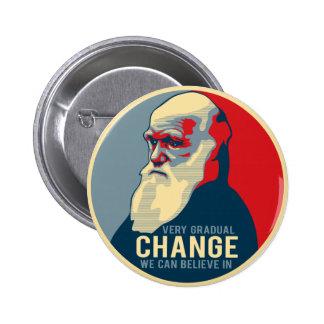 Very Gradual Change We Can Believe In 6 Cm Round Badge
