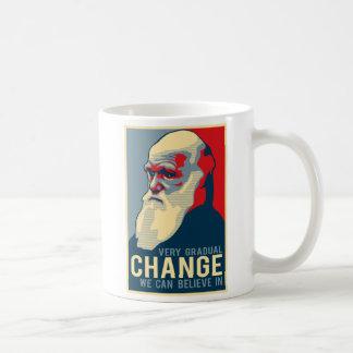 Very Gradual Change We Can Believe In Basic White Mug