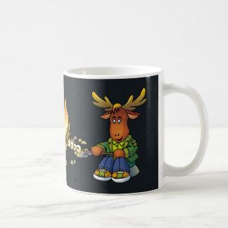 Very Happy Camper Country Moose mug