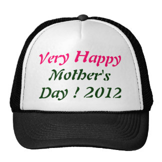 Very Happy Mother's day 2012 Cap