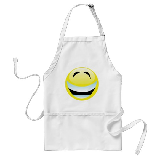 VERY HAPPY SMILEY FACE STANDARD APRON