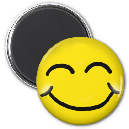 Very Happy smiley Magnet