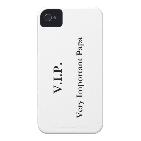 Very Important Papa iPhone 4 Covers
