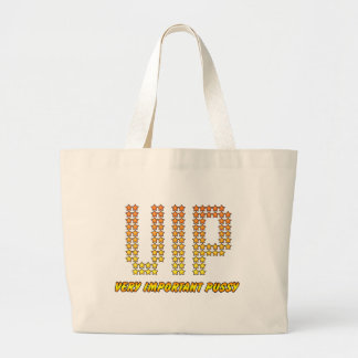 Very Important Pussy - VIP rude Offensive Naughty Tote Bags