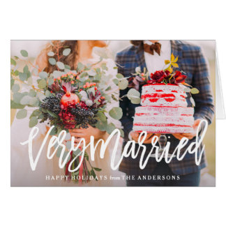 First Married Christmas Cards