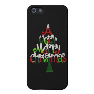 Very Merry Christmas Tree iPhone 5/5S Cover