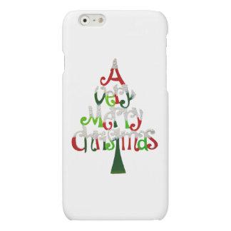 Very Merry Christmas Tree iPhone 6 Plus Case