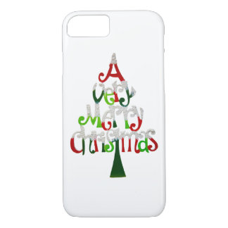 Very Merry Christmas Tree iPhone 8/7 Case