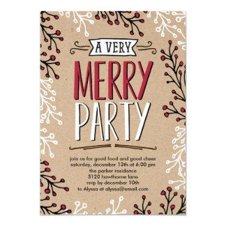 Browse the Christmas Party Invitation Collection and personalise by colour, design or style.